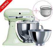 KitchenAid - Artisan KSM160 Pistachio Mixer w/ Ice Cream Bwl