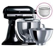KitchenAid - KSM160 Onyx Blk Mixer w/ Ice Cream Bowl