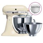 KitchenAid - KSM160 Almond Mixer w/Icecream Bowl