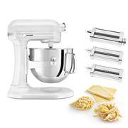 KitchenAid - Pro Line KSM7581 Frost. Pearl Mixer w/Pasta Set