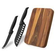 Peter's - Bodum Knife and Rhubarb Chopping Board Set