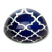 Art In Motion - Indigo Marrakesh Paperweight
