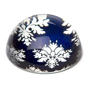 Art In Motion - Indigo Baroque Paperweight