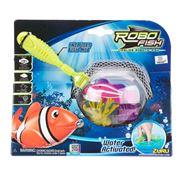 Zuru - Robo Fish Net & Coral Pink Playset