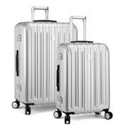 Delsey - Vavin Securite Silver Spinner Case Set 2pce