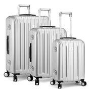 Delsey - Vavin Securite Silver Spinner Case Set 3pce