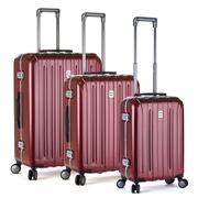 Delsey - Vavin Securite Red Spinner Case Set 3pce