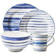 Ralph Lauren - Cote D'Azur Stripe Place Setting 4pce