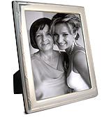 Whitehill - S/Silver Lustre Frame Reed & Ribbon 20x25cm