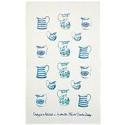 Susie Crooke - Blue Jugs Tea Towel