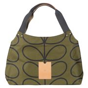 Orla Kiely - Giant Linear Stem Kelp Classic Shoulder Bag