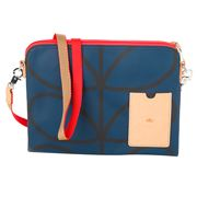 Orla Kiely - Giant Linear Stem Twilight Travel Pouch