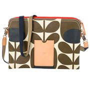 Orla Kiely - Tulip Stem Bark Travel Pouch