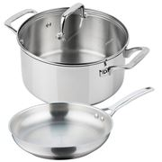 Pyrolux - Pyrosteel Casserole and Frypan Set 2pce