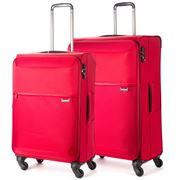 Samsonite - 72 Hours Red Expandable Spinner Case Set