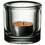 iittala - Kivi Candleholder Clear 6cm