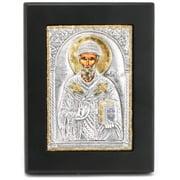 Clarte Icon - St Spyridon Gold 12x15cm