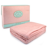 Branberry - Pink Cot Blanket