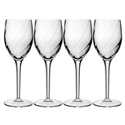 Luigi Bormioli - Canaletto Optic White Wine Set 4pce