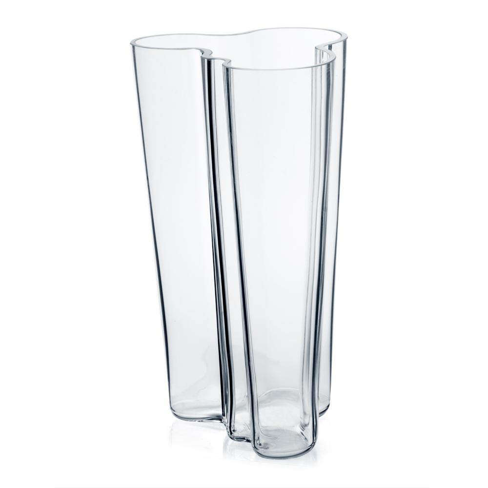 iittala aalto clear tall vase 20cm peter 39 s of kensington. Black Bedroom Furniture Sets. Home Design Ideas