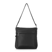 Hedgren - Inner City Fanzine Black Shoulder Bag