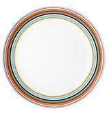 iittala - Origo Orange Stripe Plate 20cm
