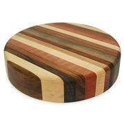 Big Chop - Round Board Five Timbers 33x7cm