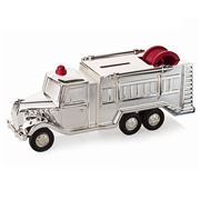 Whitehill - Fire Engine Silver Plated Money Box