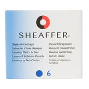 Sheaffer - Skrip Blue Ink Cartridge Set 6pce