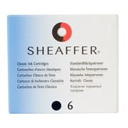 Sheaffer - Skrip Black Ink Cartridge Set 6pce