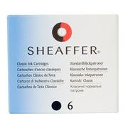 Sheaffer - Skrip Ink Cartridge Set 6pce Black