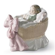 Lladro - A New Treasure Girl