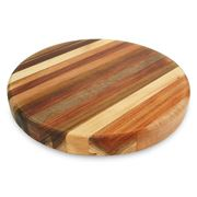 The Big Chop - Round Board 5 Timbers 33x4cm