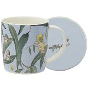 Ecology - May Gibbs Gumnut Babies Light Blue Mug&Coaster