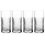 Luigi Bormioli - Diamante Beverage Glass Set 4pce