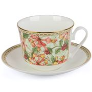 Roy Kirkham - Breakfast Cup & Saucer Honeysuckle Classic