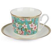 Roy Kirkham - Cherry Blossom Breakfast Cup & Saucer