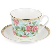 Roy Kirkham - Rose Breakfast Cup & Saucer
