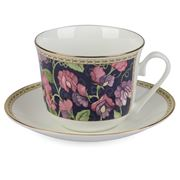 Roy Kirkham - Breakfast Cup & Saucer Sweet Pea Classic