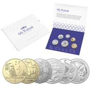 RA Mint - 2020 Uncirculated Year Clark Effigy Coin Set 6pce