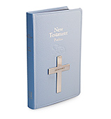Whitehill - Bible New Testament Sterling Silver Blue