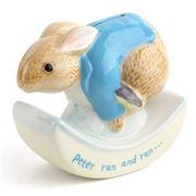 Beatrix Potter - Peter Ran and Ran Rocking Money Box
