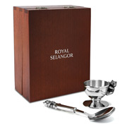 Royal Selangor - Teddy Bears' Picnic Eggcup & Spoon Set