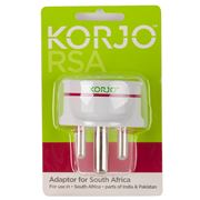 Korjo - South Africa Adaptor Plug