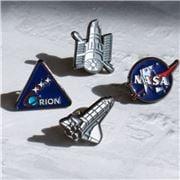 Thumbs Up - NASA Enamel Badge Set 4pce