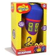 The Wiggles -  Play Along Plush Microphone w/Sound