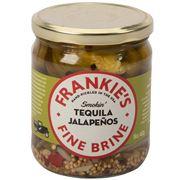 Frankie's Fine Brine - Smokin' Tequila Jalapenos 453g