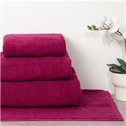 Christy - Brixton Bath Towel Magenta 70x125cm