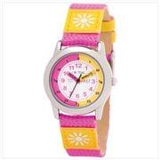 Cactus Watches - Time Teacher Girls Kids Watch Pink/Yellow