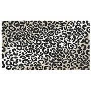 Abyss & Habidecor - Leopard Bath Rug Black 60x100cm